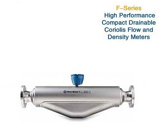 F-Series High-Performance, Compact Drainable Coriolis Flow and Density Meters