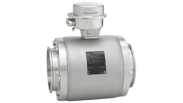 The flowmeter for smallest flow rates with an ultra-compact transmitter
